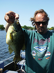 Anise Worm®s catch big redear sunfish like this one which was just shy of a new Michigan state record.